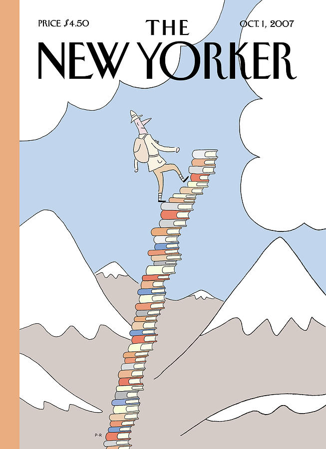 New Yorker October 1st, 2007 Painting by Philippe Petit-Roulet