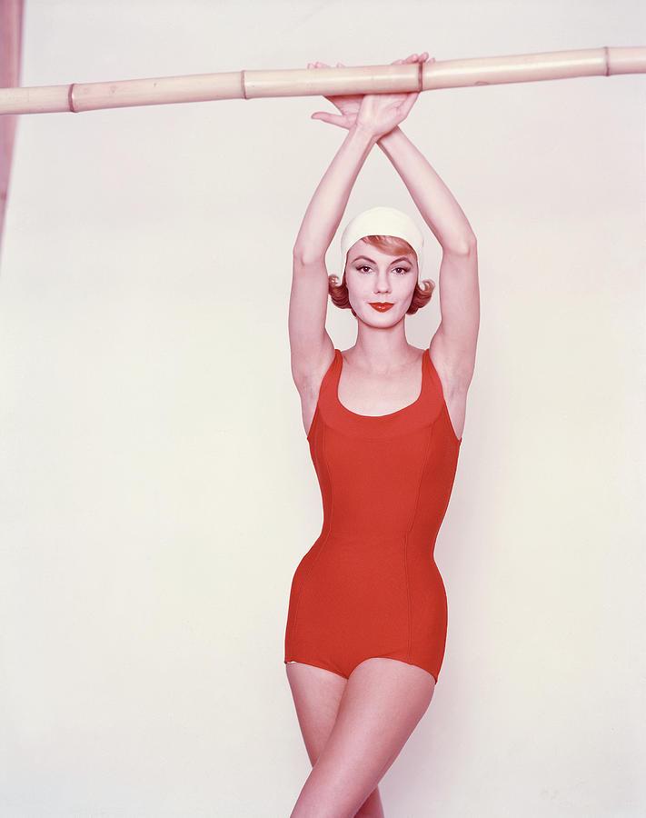 Vogue January 1st, 1958 Photograph by Richard Rutledge