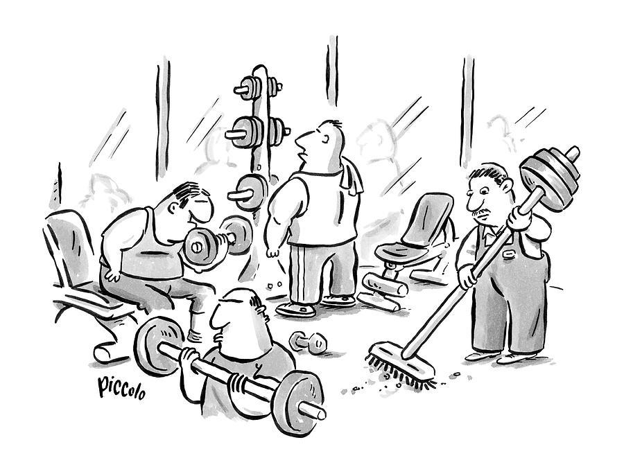 New Yorker November 24th, 2008 Drawing by Rina Piccolo