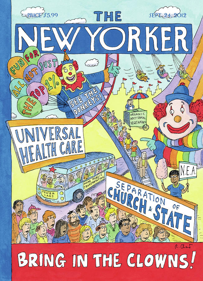 New Yorker September 24th, 2012 Painting by Roz Chast