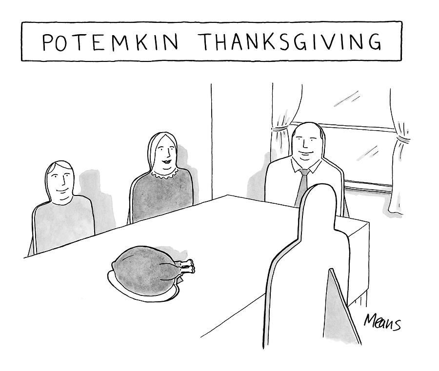 New Yorker November 27th, 2006 Drawing by Sam Means