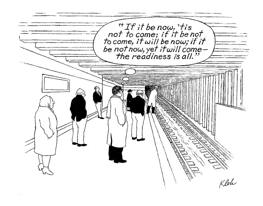 New Yorker May 29th, 2000 Drawing by Tom Kleh