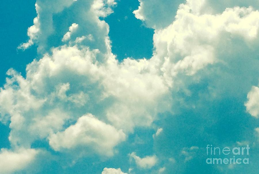 Landscape Photograph - The Kiss Of The Clouds by Lisa Reck