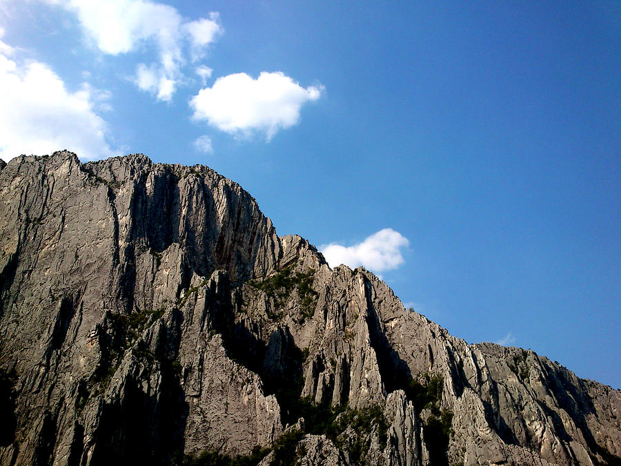 Rocks Photograph - Up In The Sky by Lucy D
