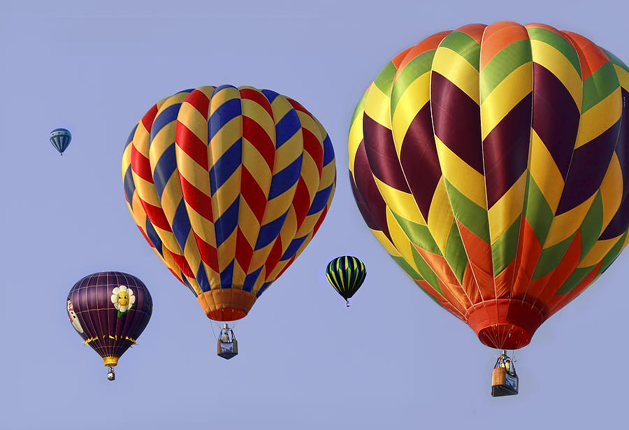 Hot Photograph - Up Up And Away by Marcia Colelli