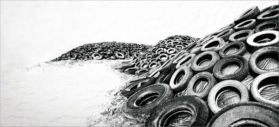 Abstraction Photograph - Upcycle by Gilbert Claes