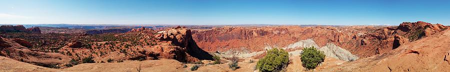 Upheaval Dome, Canyonlands, Moab, Utah Photograph by Fotomonkee