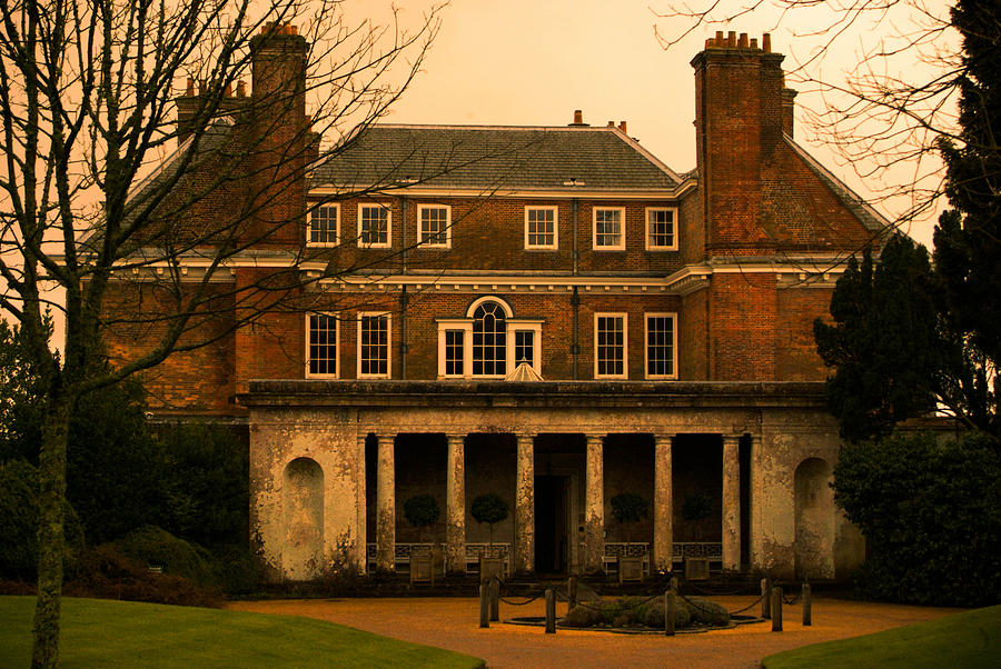 Mansion Photograph - Uppark House by Tracey Beer