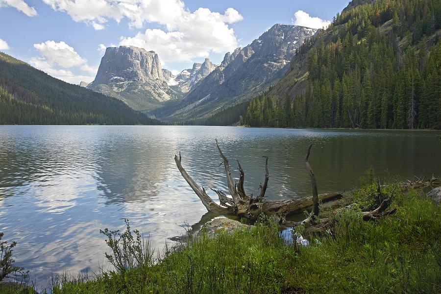 Upper Photograph - Upper Green River Lake by David Halter