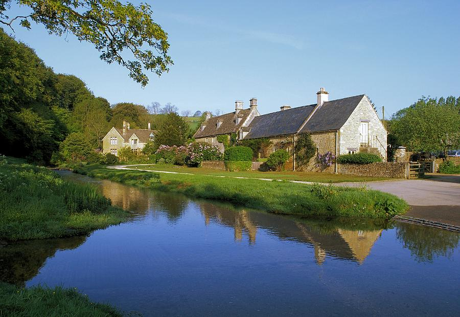 Cotswolds Photograph - Upper Slaughter by Ron Harpham
