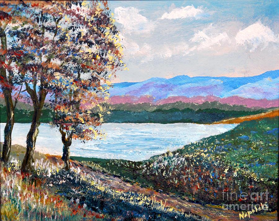 Upper Valley Path by Barney Napolske