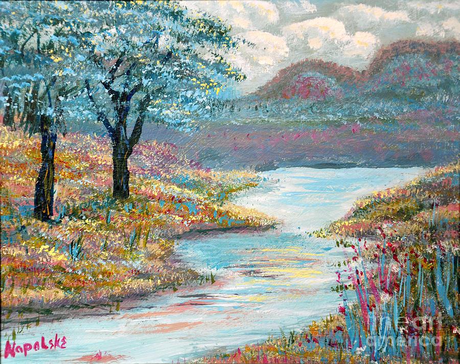 Upper Valley Stream by Barney Napolske