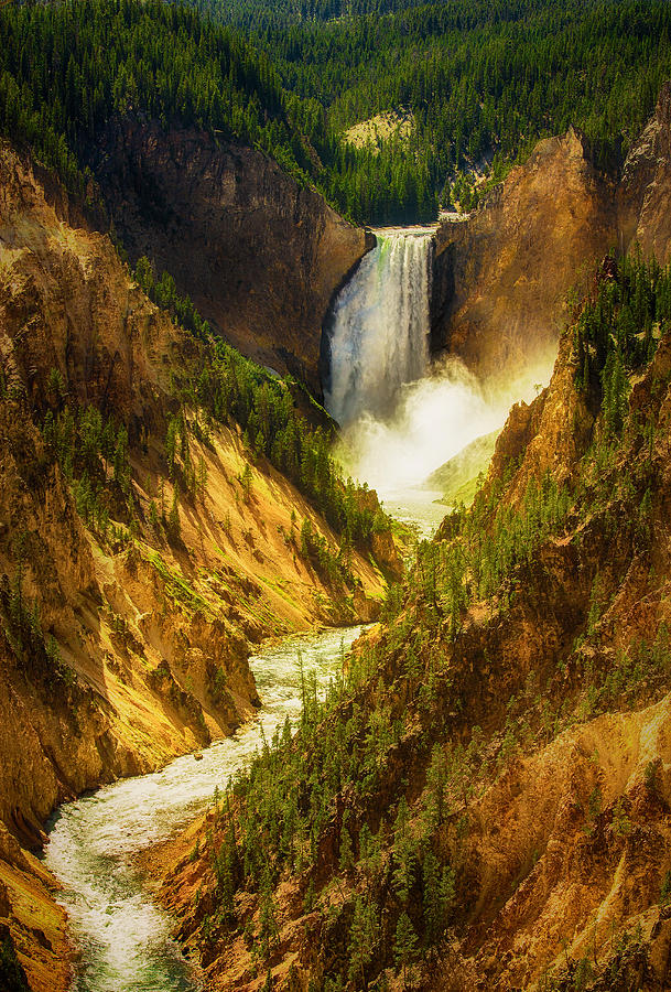 Water Photograph - Upper Yellowstone by Stuart Deacon