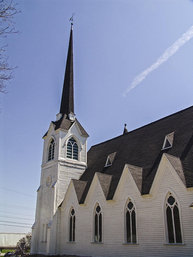 New York Photograph - Upstate Church by Eric Swan