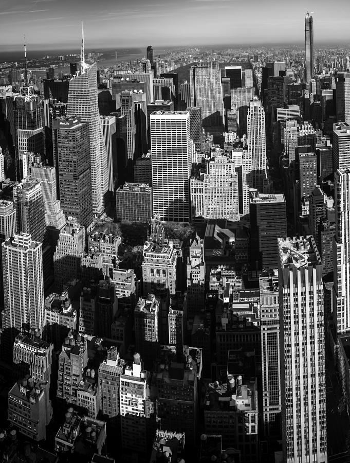 Uptown Manhattan Triptych Left Photograph