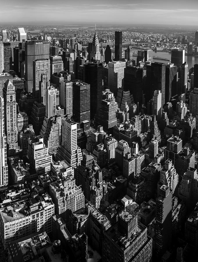 Uptown Manhattan Triptych Middle Photograph
