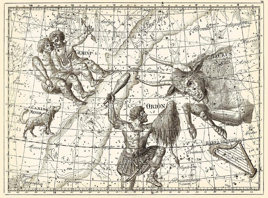 1700s Photograph - Uranographia Constellations, 1801 by Science Photo Library
