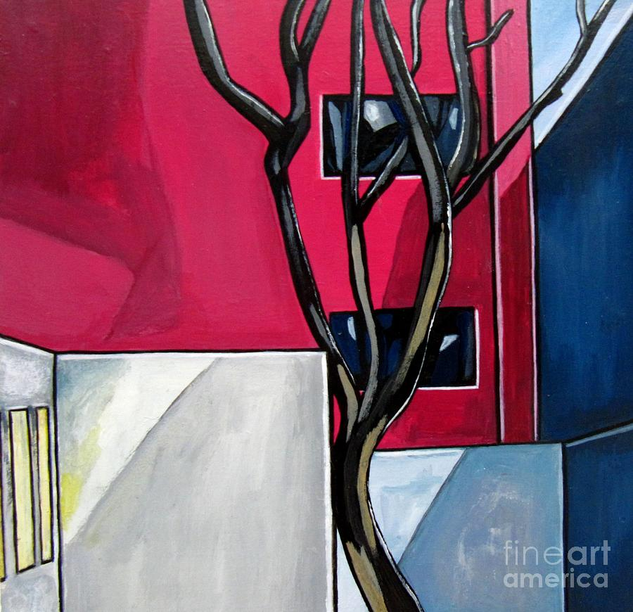 Landscape Painting - Urban 1 by Sandra Marie Adams