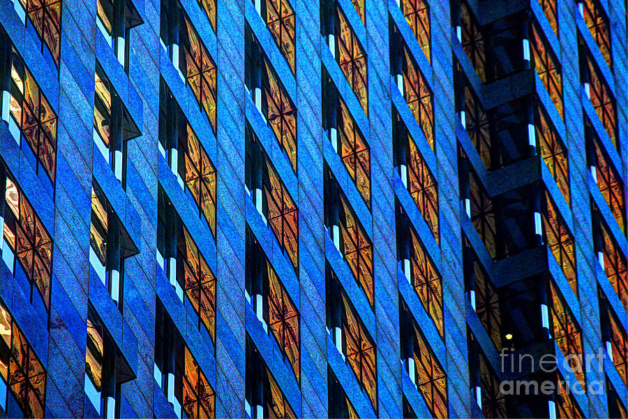 Building Photograph - Urban Abstract 4 by Jim Wright