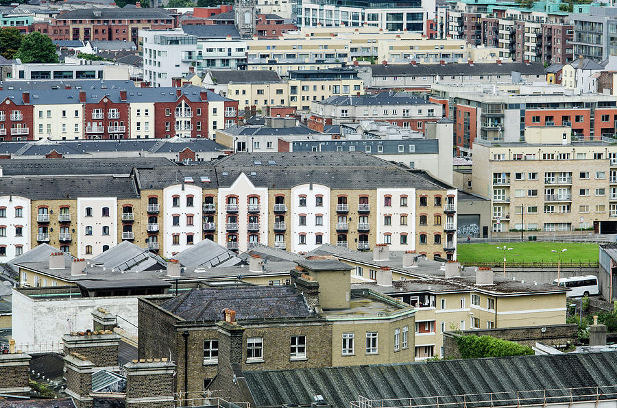 Urban Buildings Of Dublin Photograph by Megan Ahrens