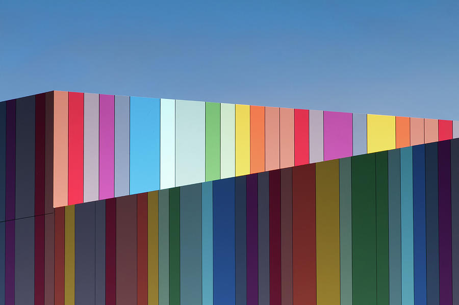 Architecture Photograph - Urban Candy by Gregory Evans
