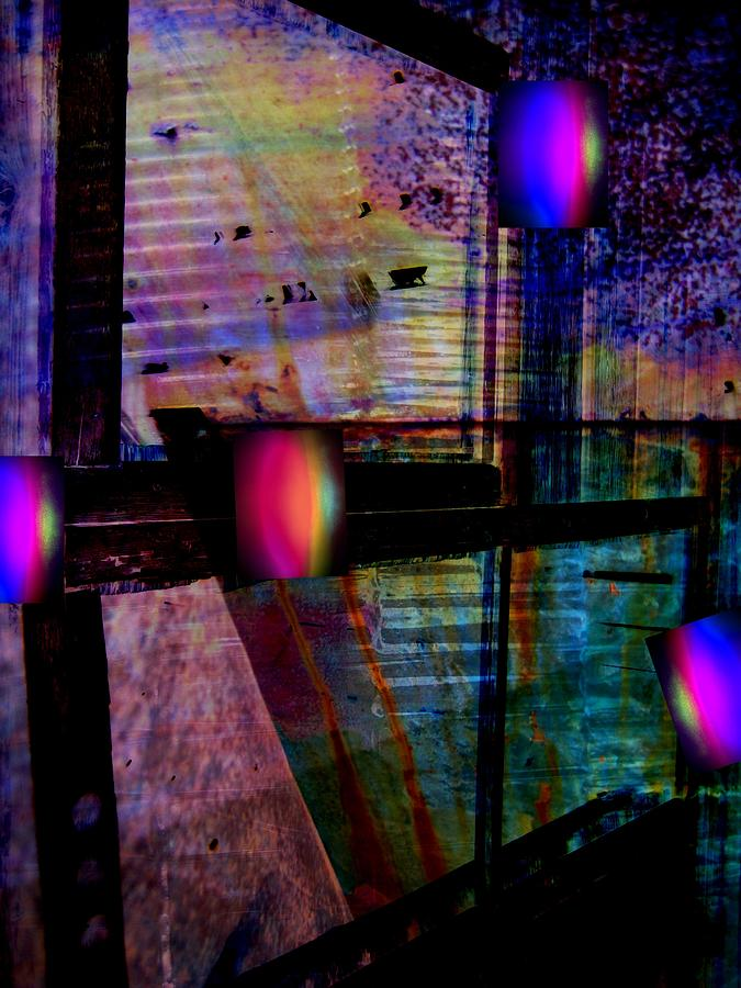 Abstract Photograph - Urban Complexities by Shirley Sirois