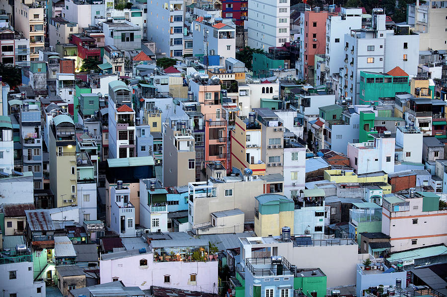 Urban Density Ho Chi Minh City Photograph by Kevin Miller