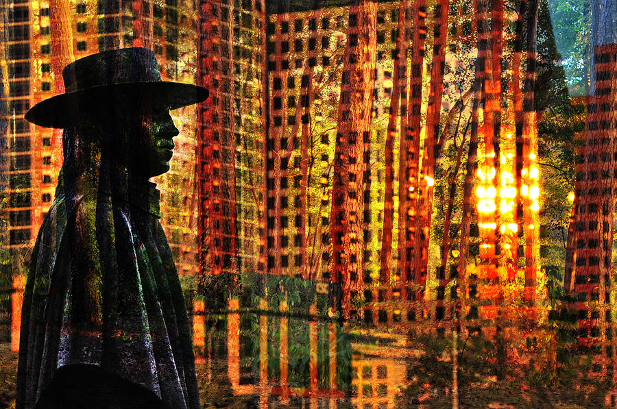 Austin Photograph - Urban Guru by Skip Hunt