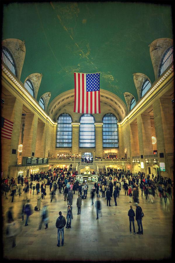 Grand Central Photograph - Urban Legend by Evelina Kremsdorf