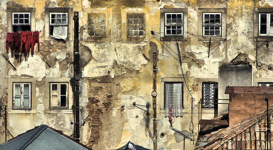 Urban Painting - Urban Lisbon by David Letts