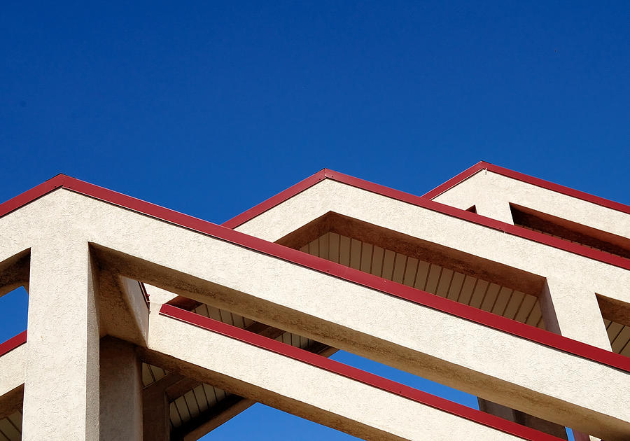 Abstracts Photograph - Urban Mountains by Steven Milner