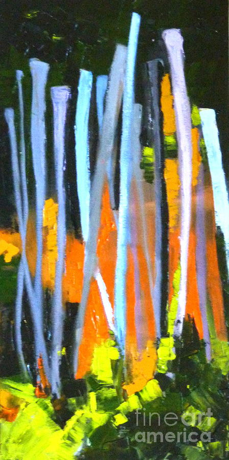 Abstract Painting - Urban Reach by Susan A Becker