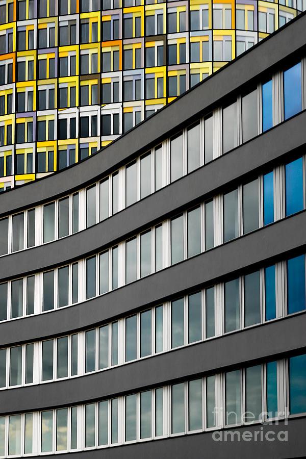 Adac Photograph - Urban Rectangles by Hannes Cmarits