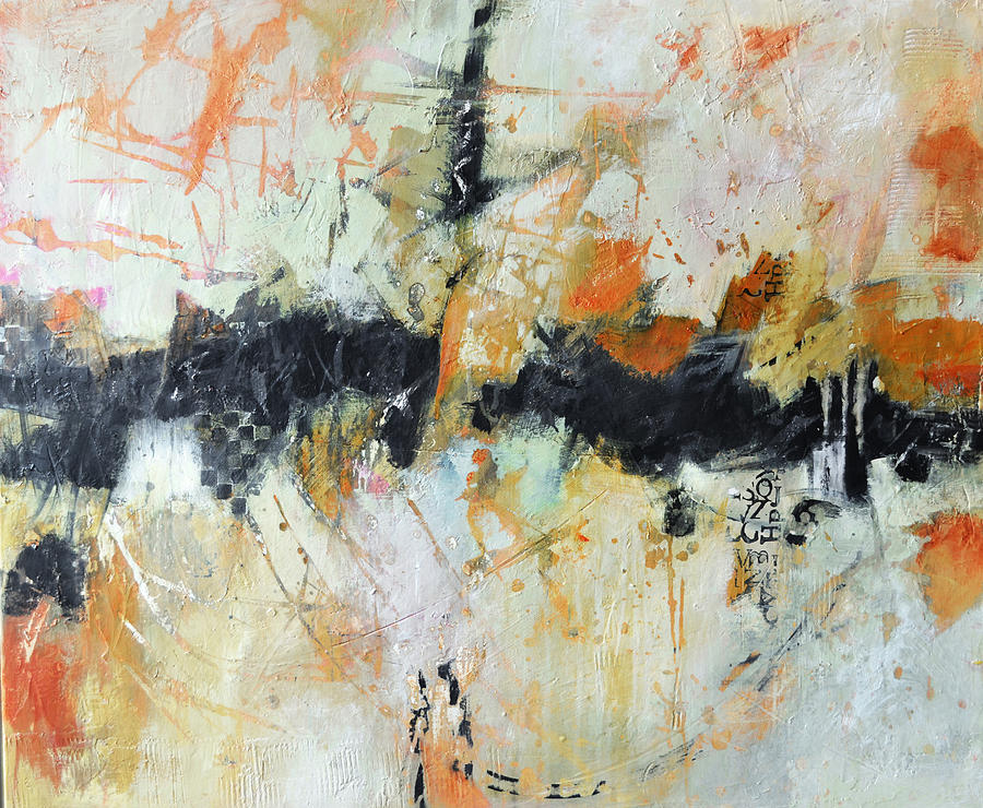 Abstract Painting - Urban Renewal by Filomena Booth