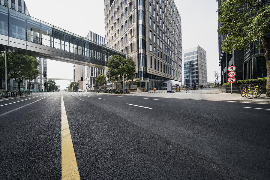 Urban Road Photograph by Copyright Xinzheng. All Rights Reserved.