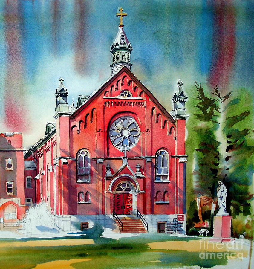 Ursuline Academy Sanctuary Painting - Ursuline Academy Sanctuary by Kip DeVore