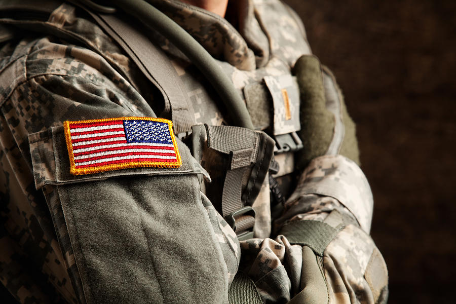 US Army Soldier in Universal Camouflage Uniform Photograph by DanielBendjy