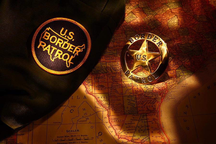 Us Photograph - Us Border Patrol by Daniel Alcocer
