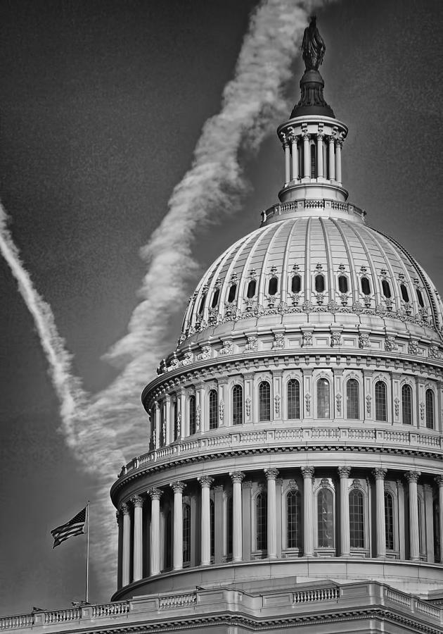 Rotunda Photograph - U.s. Capitol Dome by Boyd Alexander