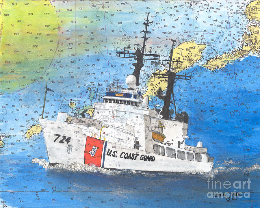 Us Coast Guard Cutter Munro Nautical Chart Cape San Blas - Us coast guard maps