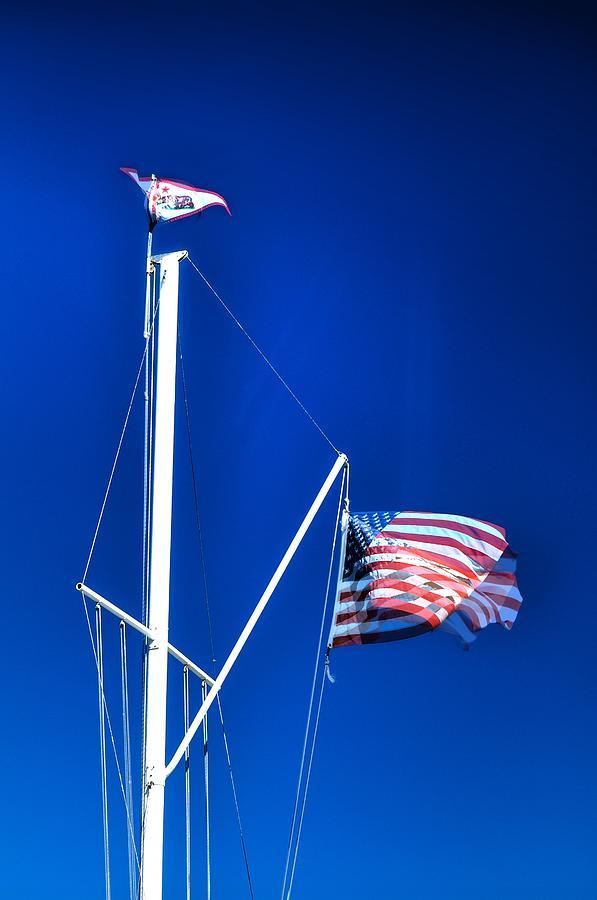 Us Flag 19749 Photograph