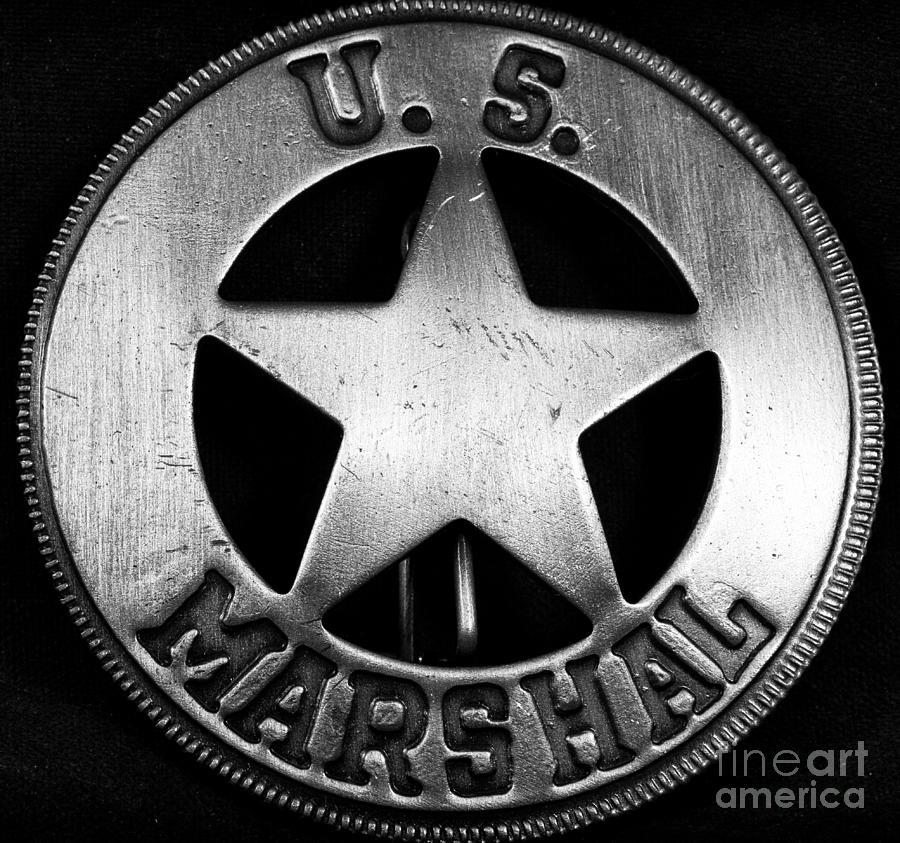 Us Marshal Photograph - Us Marshal by John Rizzuto
