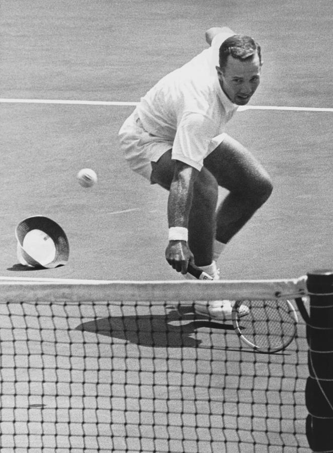 1960s Photograph - U.s. Mexico Davis Cup Playoffs by Underwood Archives