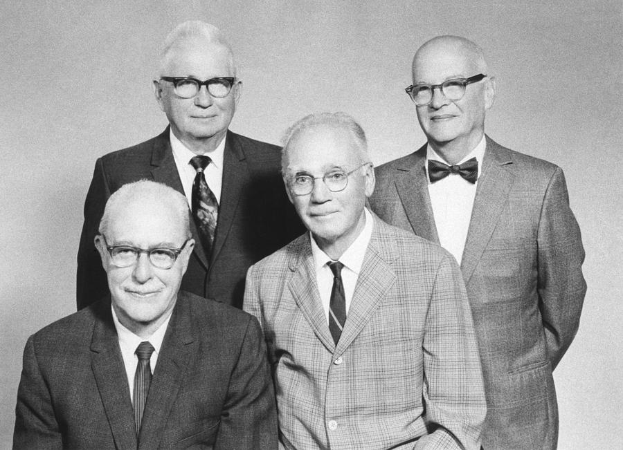 People Photograph - Us Physicists by Science Photo Library