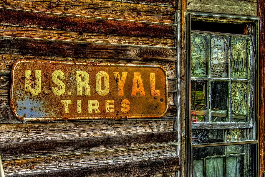 Old Building Photograph - Us Royal by Russ Burch