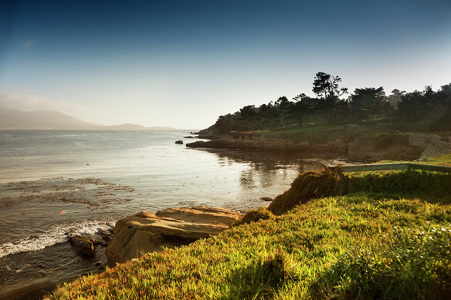 Water's Edge Photograph - Usa, California, Big Sur, Coastline And by Pgiam