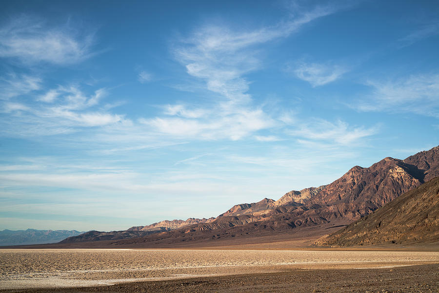 Usa, California, Death Valley, Desert Photograph by Gary Weathers