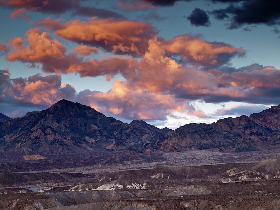 Arid Photograph - Usa, California, Death Valley National by Ann Collins