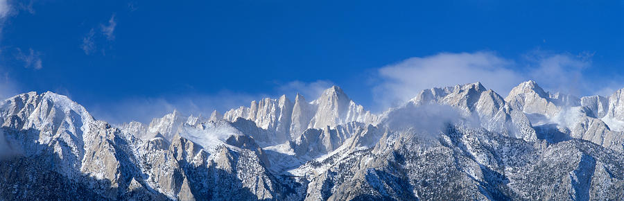 Color Image Photograph - Usa, California, Mount Whitney by Panoramic Images