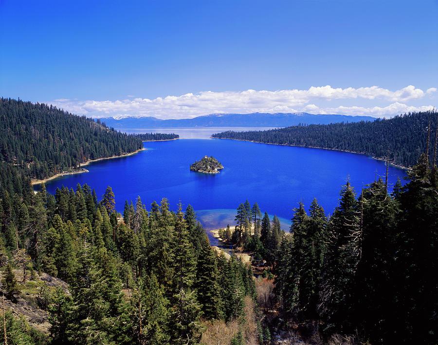 Adam Jones Photograph - Usa, California, View Of Emerald Bay by Adam Jones